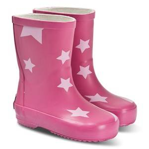 Ticket to heaven PU Rain Boots Allover Raspberry Rose Wellingtons