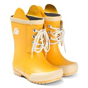 Didriksons Splashman Kids Boot 3 Yellow Wellingtons