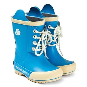Didriksons Splashman Kids Boot3 Malibu Blue Wellingtons