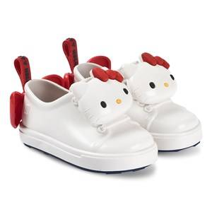 Mini Melissa Hello Kitty BB Shoes White Lasten kengt 19-20 (UK 4)