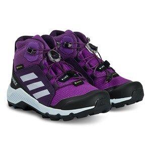 adidas Performance Terrex Mid Hiking Boots Purple