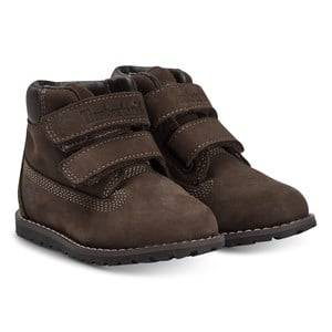 Timberland Pokey Pine Shoes Dark Brown Lasten kengt 28 (US 10,5)
