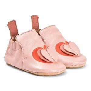 Easy Peasy Heart BluBlu Crib Shoes Powder Lasten kengt 24 (UK 7)