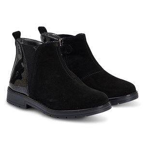 Primigi Suede Chelsea Boots Black Lasten kengt 35 (UK 2.5)