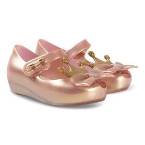 Mini Melissa Mini Princess Shoes Rose Gold Lasten kengt 19-20 (UK 4)