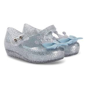 Mini Melissa Mini Princess Shoes Silver Glitter Lasten kengt 19-20 (UK 4)