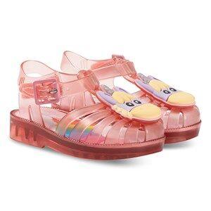 Mini Melissa Mini Possession Unicorn Jelly Sandals Transparent Pink Lasten kengt 19-20 (UK 4)