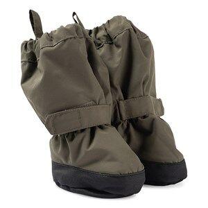 Wheat Outerwear Booties Army Leaf Lasten kengt 0-6 Months