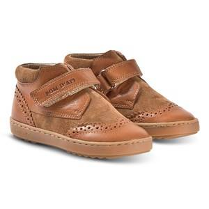 Pom Dapi Wouf Easy Pad Shoes Camel Lasten kengt 31 (UK 12.5)