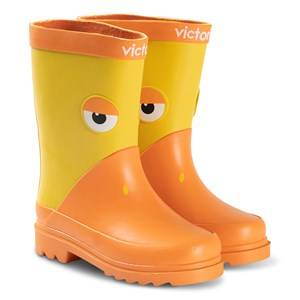 Victoria Duck Rain Boots Yellow Wellingtons