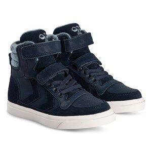 Image of Hummel Stadil Winter High Jr Sneakers Black Iris Lasten kengt 29 EU