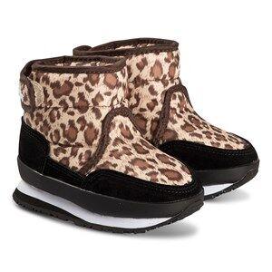 Rubber Duck Snowjogger Boots Leopard Print Snow boots