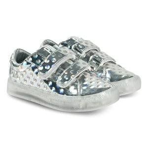Pop Shoes St Laurent EZ Sneakers Dots Silver Lasten kengt 29 EU