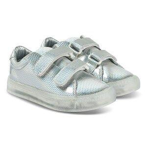 Pop Shoes St Laurent EZ Sneakers Safety Silver Lasten kengt 32 EU