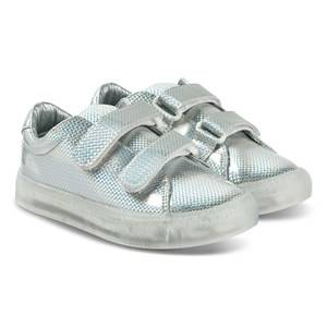 Pop Shoes St Laurent EZ Sneakers Safety Silver Lasten kengt 28 EU