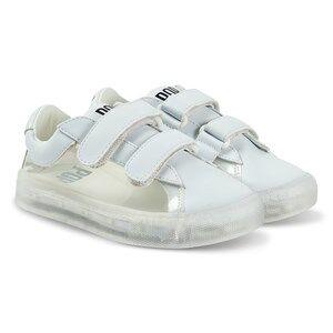 Pop Shoes St Laurent EZ Sneakers Clear White Lasten kengt 34 EU