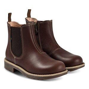 Kavat Husum JR EP Boots Dark Brown Lasten kengt 35 EU