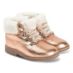 Pom Dapi Retro Mountain Shoes Pink Shimmer Lasten kengt 26 (UK 8.5)