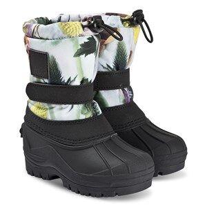 Molo Driven Boots Frozen Flowers Snow boots
