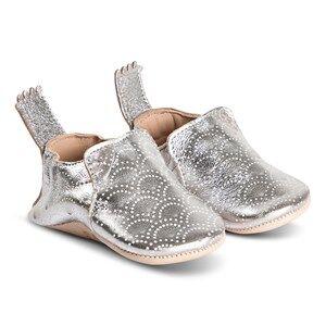 Easy Peasy Silver Blumoo Scallop Crib Shoe Lasten kengt 6-12 months