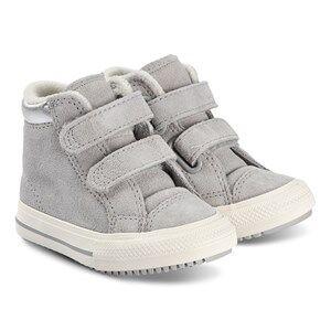 Converse Chuck Taylor Hi Top Kids Sneakers Ash Grey Lasten kengt 26 (UK 10)