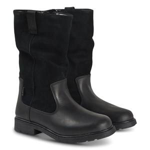 Clarks Astrol Rise Boots Black Leather Lasten kengt 29 (UK 11)