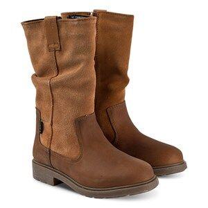 Clarks Astrol Rise Boots Tan Leather Lasten kengt 36 (UK 3.5)