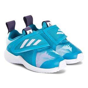 adidas Performance FortaRun x Frozen Infants Sneakers Aqua/Purple Lasten kengt 22 (UK 5.5)