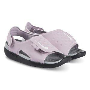NIKE Sunray Adjust 5 Sandals Iced Lilac and Smoke Grey Lasten kengt 31 (UK 12.5)
