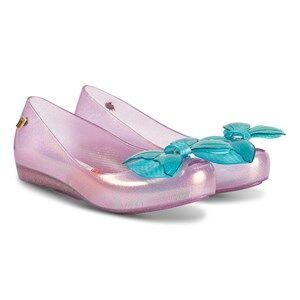 Mini Melissa Little Mermaid Ultragirl Shoes Purple and Aqua Lasten kengt 34 (UK 2)