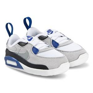 NIKE Max 90 Crib Shoes Blue/Particle Grey Lasten kengt 17 (UK 1.5)