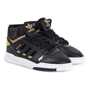 adidas Originals Drop Step Sneakers Black/Gold Lasten kengt 38 2/3 (UK 5.5)