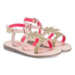 Billieblush Glitter Palm Tree Sandal Pink/Gold Lasten kengt 37 (UK 4)