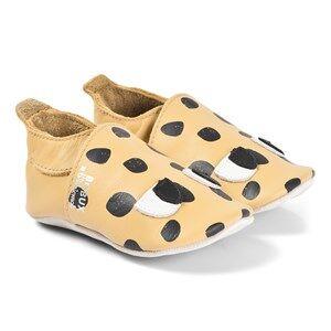 The Bonnie Mob Bobux x Bonnie Soft Sole Pre-Walker Shoes Leopard Spot Lasten kengt 3-9 Months