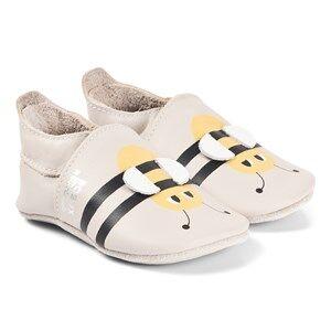 The Bonnie Mob Bobux x Bonnie Soft Sole Pre-Walker Shoes Bee/Milk Lasten kengt 15-21 Months