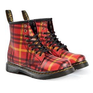 Dr. Martens Tartan Boots Red Lasten kengt 31 (UK 12)