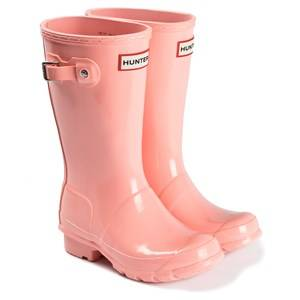 Hunter Original Gloss Rain Boots California Pink Wellingtons