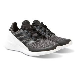 adidas Performance Black Rapida Run Knit Shoes Lasten kengt 38 (UK 5)