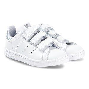 adidas Originals Stan Smith Kids Sneakers White and Iridescent Lasten kengt 28 (UK 10.5)