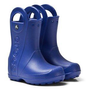 Crocs Handle It Rain Boot Kids Cerulean Blue Wellingtons