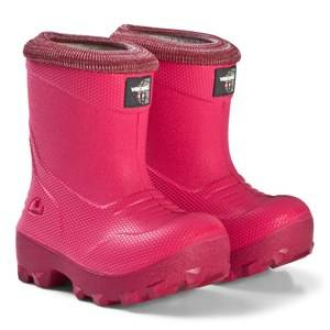 Viking Frost Fighter Boots Pink and Cerise Wellingtons