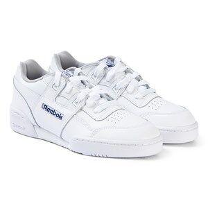 Reebok White Workout Plus Junior Sneakers Lasten kengt 36 (UK 4)