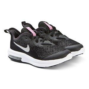 NIKE Black Nike Air Max Sequent 4 Sneakers Lasten kengt 30 (UK 12)