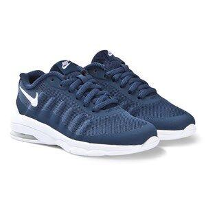 NIKE Navy Nike Air Max Invigor Print Sneakers Lasten kengt 36.5 (UK 4)