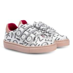 Kenzo Crazy Jungle Sneakers Optic White Lasten kengt 26 (UK 8.5)