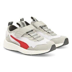 Puma Neko Skim Sneakers White and Red Lasten kengt 36 (UK 3.5)