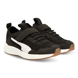 Puma Neko Skim Sneakers Black and White Lasten kengt 37 (UK 4)