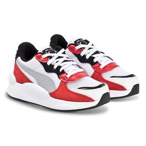 Puma 9.8 Space Sneakers White and Red Lasten kengt 30 (UK 11.5)