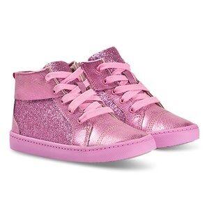 Clarks City Oasis Hi Sneakers Pink Sparkle Lasten kengt 30 (UK 12)
