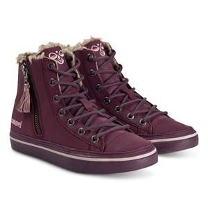 Hummel Strada Winter Jr Sneakers Prune Purple Lasten kengt 33 EU